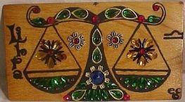 libra enid collins purse wood